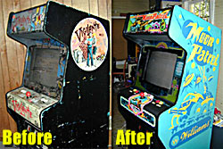 Jame's Cab, Before and After