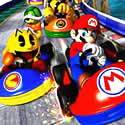 Pac vs. Mario, Race!