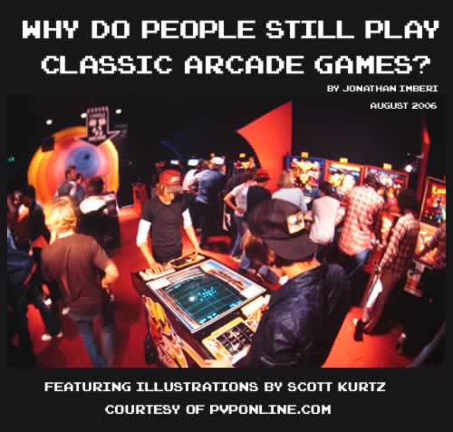 Why People Play Classic Arcade Games